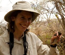 Gabriel Jamie with Mozambican Tailorbird